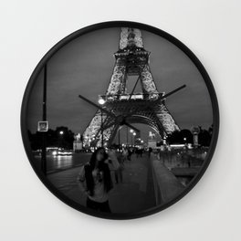 Tower De Eiffel Wall Clock