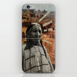 The Difference Between Unconsciousness And Ideas iPhone Skin