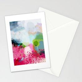 pink landscape Stationery Cards