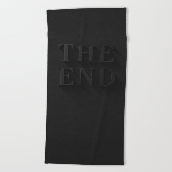 THE END Beach Towel