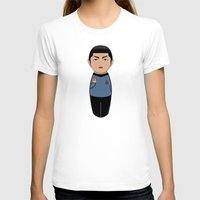 spock T-shirts featuring Kokeshi Spock by Pendientera