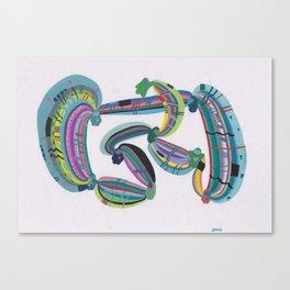 Transmission(s) Canvas Print