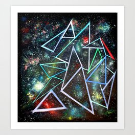 My Father's Star Charts Art Print