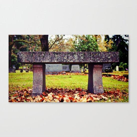 Final resting place Canvas Print