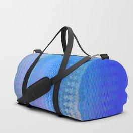 Sky Blue Pink Duffle Bag