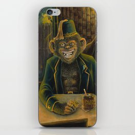 Lester Dines At The Mai Kai iPhone Skin