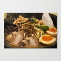 ramen Canvas Prints featuring Ramen by Yannik Meka