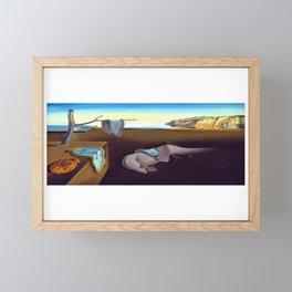 Salvador Dali The Persistence of Memory 1931 Artwork, Wall Art, Prints, Posters, Tshirts, Men, Women Framed Mini Art Print