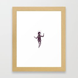 Next Of Kin: The Science Of Praying Framed Art Print