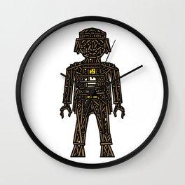 The Playmobil Wicker Man Wall Clock