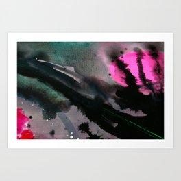 Wet paint 3 Art Print