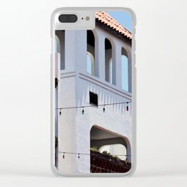 Mexican Architecture Clear iPhone Case