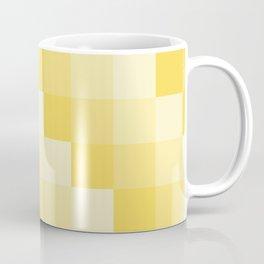 Four Shades of Yellow Square Coffee Mug