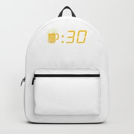 Beer Thirty. Funny Drinking Or Getting Drunk Backpack