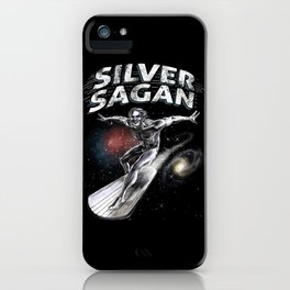 Silver Sagan iPhone Case