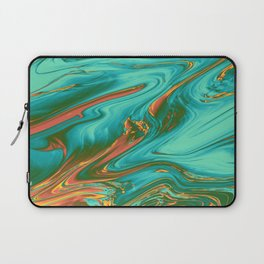 fire opal agate Laptop Sleeve