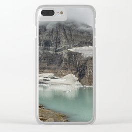 Grinnell and Salamander Glaciers, Soon Things of the Past Clear iPhone Case