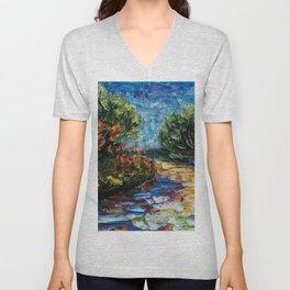 Landscape Unisex V-Neck