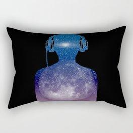 Music space Rectangular Pillow