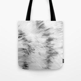 Marabou Feathers Tote Bag