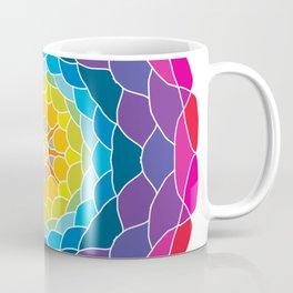 floral ornament. circular pattern Coffee Mug