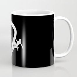 Climbing Carabiner Type Mountain Coffee Mug