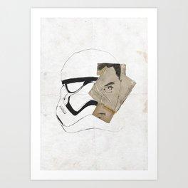 Finn Awakened Art Print