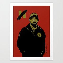 Chuck D - Rebel Without A Pause Art Print
