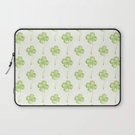 Four Leaf Clover Pattern Laptop Sleeve