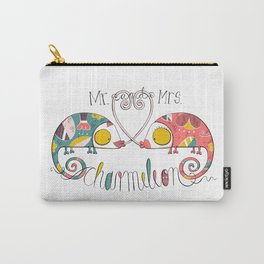 Mr. and Mrs. Charmeleon Carry-All Pouch
