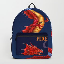 Fire & Ice Dragons Backpack