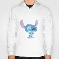 lilo and stitch Hoodies featuring Stitch by Rod Perich