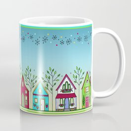 Doodle Houses Coffee Mug