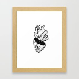 Heart of the Universe Framed Art Print