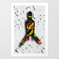 dancer Art Prints featuring Dancer by LoRo  Art & Pictures