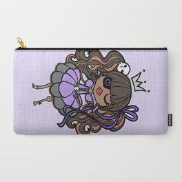 Princess Pirate - Purple Carry-All Pouch
