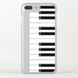 Ebony & Ivory Clear iPhone Case