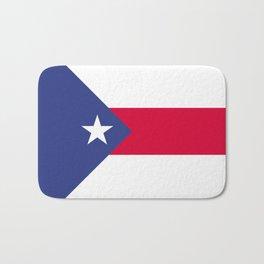 Puerto Rico flag emblem Bath Mat