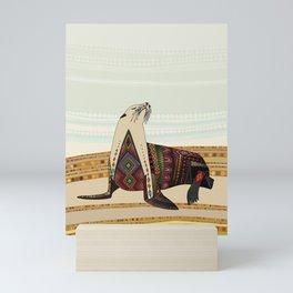 sea lion Mini Art Print