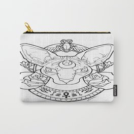Sphynx Tattoo by SilvieCrystal Carry-All Pouch
