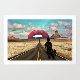 Monument Valley Dreaming Art Print