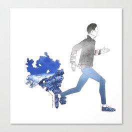 Moving art  Canvas Print