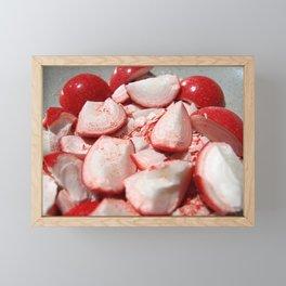 Shattered Fireballs Framed Mini Art Print