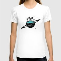 saturn T-shirts featuring Saturn by shoooes