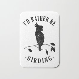 Bird Native birds songbird cockatoo gift Bath Mat