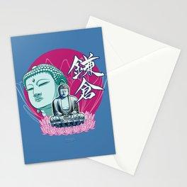 Kamakura Buddha Stationery Cards