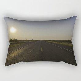 Empty Roads Rectangular Pillow