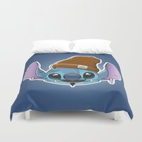 ohana Duvet Covers featuring Hipstitch by Micka Design