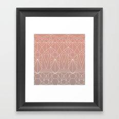 My Favorite Pattern 10 Y Framed Art Print