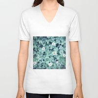 clover V-neck T-shirts featuring Clover by Van Chee